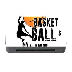 Basketball Is My Life Memory Card Reader With Cf by Valentinaart