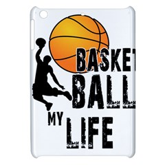 Basketball Is My Life Apple Ipad Mini Hardshell Case by Valentinaart