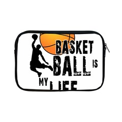 Basketball Is My Life Apple Ipad Mini Zipper Cases by Valentinaart