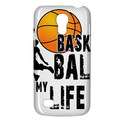 Basketball Is My Life Galaxy S4 Mini by Valentinaart
