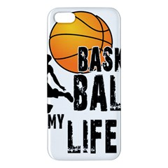 Basketball Is My Life Iphone 5s/ Se Premium Hardshell Case by Valentinaart