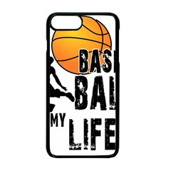Basketball Is My Life Apple Iphone 7 Plus Seamless Case (black) by Valentinaart