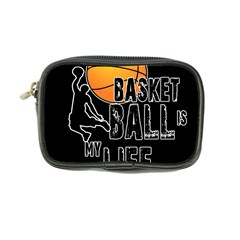 Basketball Is My Life Coin Purse by Valentinaart