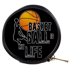 Basketball Is My Life Mini Makeup Bags by Valentinaart