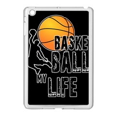 Basketball Is My Life Apple Ipad Mini Case (white) by Valentinaart
