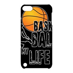 Basketball Is My Life Apple Ipod Touch 5 Hardshell Case With Stand by Valentinaart