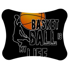 Basketball Is My Life Jigsaw Puzzle Photo Stand (bow) by Valentinaart