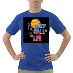 Basketball is my life Dark T-Shirt