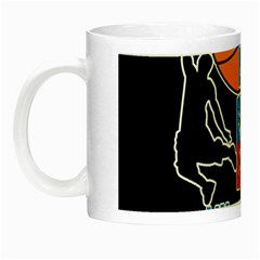 Basketball is my life Night Luminous Mugs