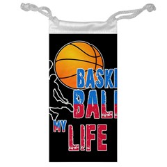 Basketball is my life Jewelry Bag