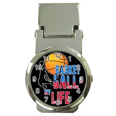 Basketball is my life Money Clip Watches