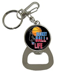 Basketball is my life Button Necklaces