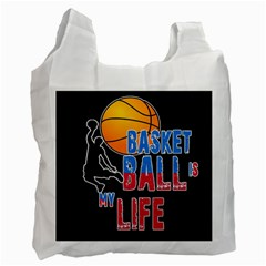 Basketball is my life Recycle Bag (One Side)