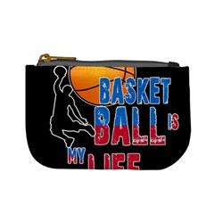 Basketball is my life Mini Coin Purses
