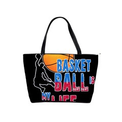 Basketball is my life Shoulder Handbags