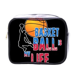 Basketball is my life Mini Toiletries Bags