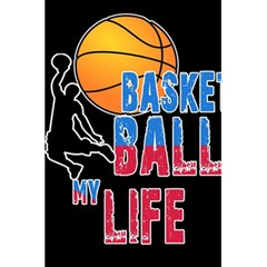 Basketball is my life 5.5  x 8.5  Notebooks