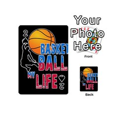 Basketball is my life Playing Cards 54 (Mini)