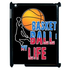 Basketball is my life Apple iPad 2 Case (Black)