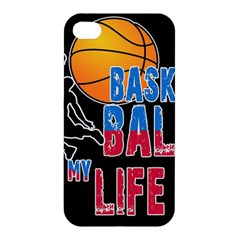 Basketball is my life Apple iPhone 4/4S Hardshell Case