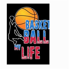 Basketball is my life Large Garden Flag (Two Sides)