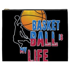 Basketball is my life Cosmetic Bag (XXXL)