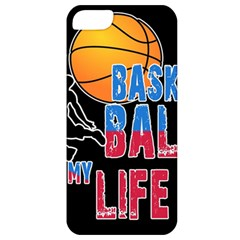 Basketball is my life Apple iPhone 5 Classic Hardshell Case
