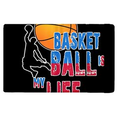 Basketball is my life Apple iPad 2 Flip Case