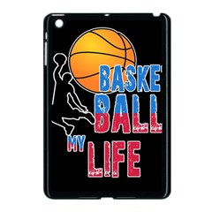 Basketball is my life Apple iPad Mini Case (Black)