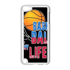 Basketball is my life Apple iPod Touch 5 Case (White)
