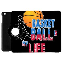 Basketball is my life Apple iPad Mini Flip 360 Case