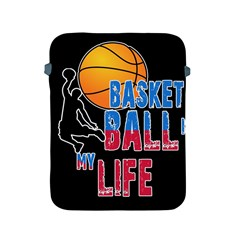 Basketball is my life Apple iPad 2/3/4 Protective Soft Cases