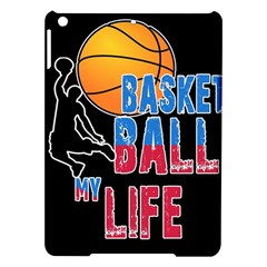 Basketball is my life iPad Air Hardshell Cases