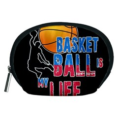 Basketball is my life Accessory Pouches (Medium)