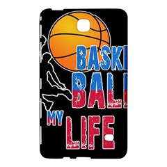 Basketball Is My Life Samsung Galaxy Tab 4 (8 ) Hardshell Case  by Valentinaart