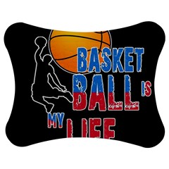 Basketball is my life Jigsaw Puzzle Photo Stand (Bow)