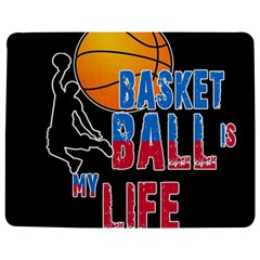 Basketball is my life Jigsaw Puzzle Photo Stand (Rectangular)