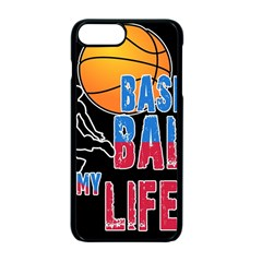 Basketball is my life Apple iPhone 7 Plus Seamless Case (Black)