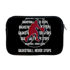 Basketball Never Stops Apple Macbook Pro 17  Zipper Case