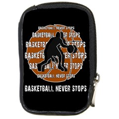 Basketball Never Stops Compact Camera Cases