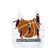 Basketball Never Stops Full Print Recycle Bags (s)