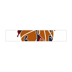 Basketball Never Stops Flano Scarf (mini) by Valentinaart