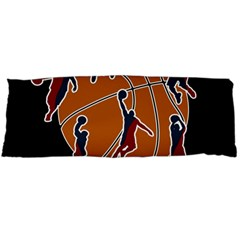 Basketball Never Stops Body Pillow Case (dakimakura) by Valentinaart