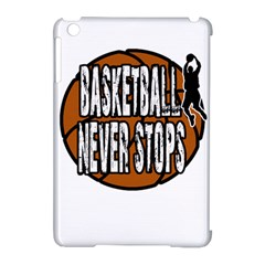 Basketball Never Stops Apple Ipad Mini Hardshell Case (compatible With Smart Cover)
