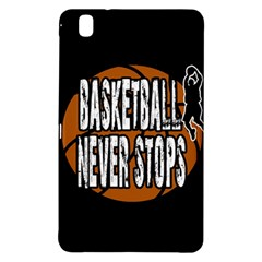Basketball Never Stops Samsung Galaxy Tab Pro 8 4 Hardshell Case