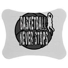 Basketball Never Stops Jigsaw Puzzle Photo Stand (bow) by Valentinaart