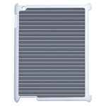 Decorative lines pattern Apple iPad 2 Case (White) Front
