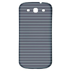 Decorative Lines Pattern Samsung Galaxy S3 S Iii Classic Hardshell Back Case by Valentinaart