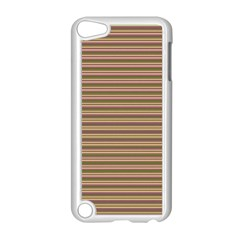 Decorative Lines Pattern Apple Ipod Touch 5 Case (white) by Valentinaart
