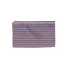 Decorative Lines Pattern Cosmetic Bag (small)